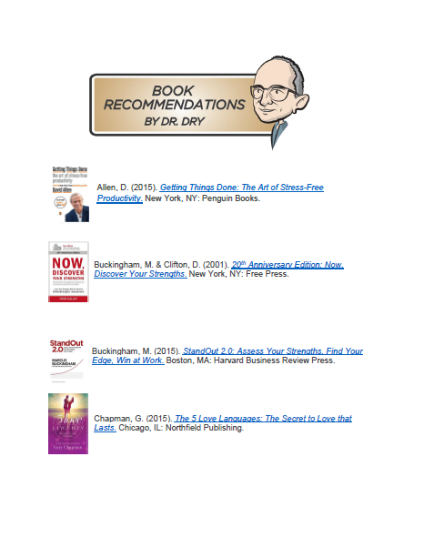 Book Recommendations by Dr. Dry