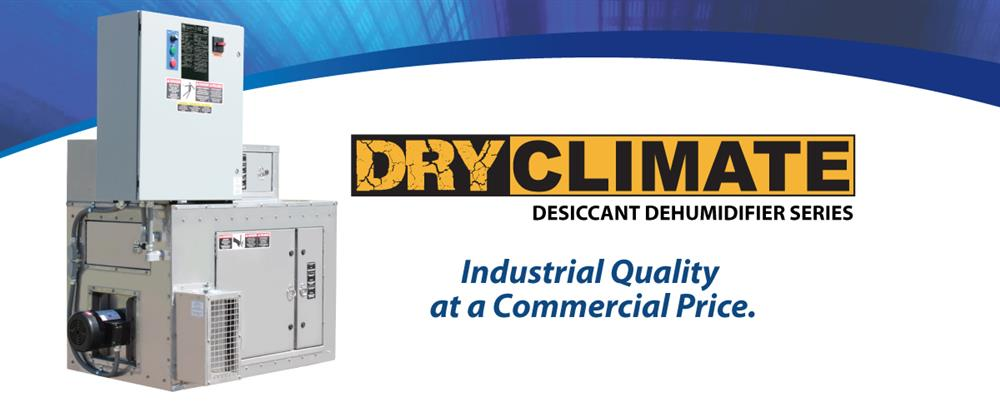 Dry Climate Desiccant Dehudification Series