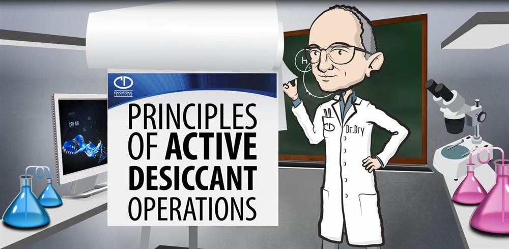 Principles of Active Desiccant Operation