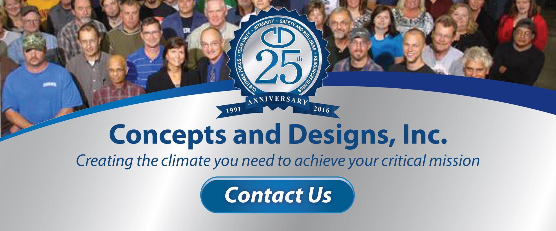 Concepts and Designs, Inc. 25th Anniverary