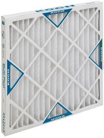picture of multi pleat xl8 hc air filter 25x30x2 12 per case - Air Filter Home