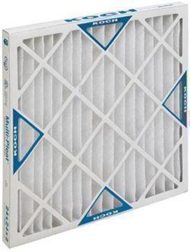 Picture of Multi-Pleat XL8-HC Air Filter - 10x20x2 (12 per case)