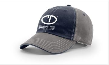 Picture of 322 Richardson Washed Chino Charcoal Cap