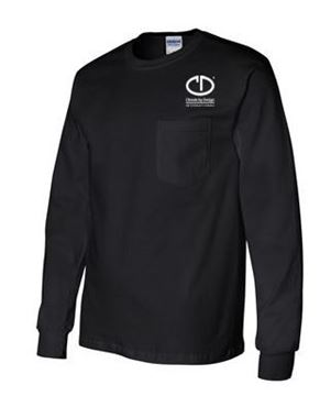 Picture of Gildan Ultra Cotton Long Sleeve Pocket T-Shirt #2410