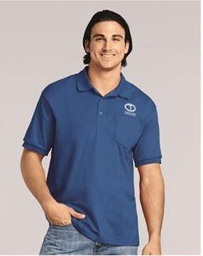 Picture of Gildan DryBlend Jersey Sport Shirt with Pocket #8900