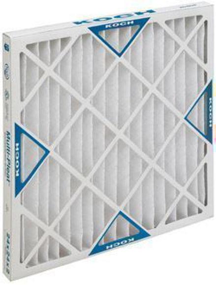 Picture of Multi-Pleat XL8 Air Filter - 16x20x4 (6 per case)