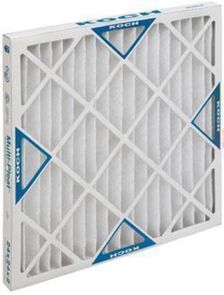 Picture of Multi-Pleat XL8 Air Filter - 20x20x4 (6 per case)