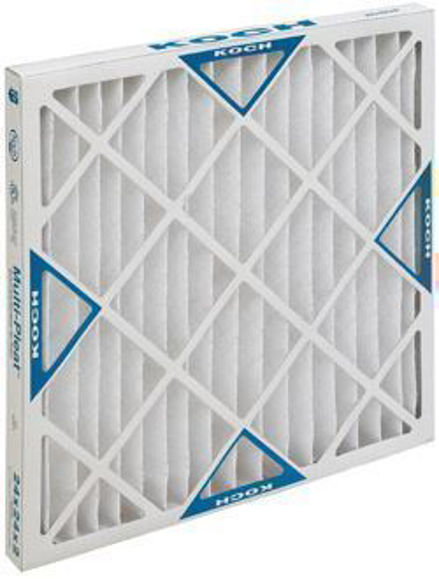 Picture of Multi-Pleat XL8 Air Filter - 20x25x4 (6 per case)