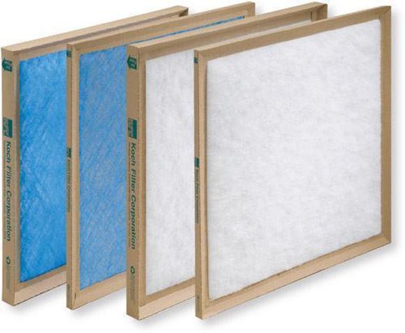 Picture of Disposable Fiberglass Panel Filter - 10x25x1 (12 per case)