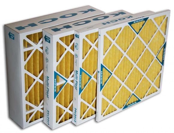 Picture of Multi-Pleat XL11 Air Filter - 20x25x4 (6 per case)
