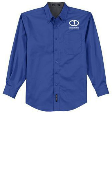 Picture of Port Authority Long Sleeve Easy Care Shirt #S608