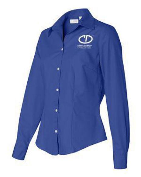 Picture of Van Heusen Women's Silky Poplin Shirt #13V0114
