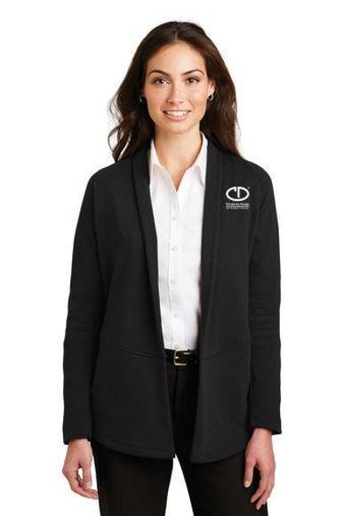 Picture of Port Authority Women's Interlock Cardigan #L807
