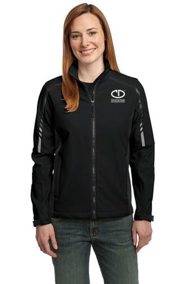 Picture of Port Authority Ladies Embark Soft Shell Jacket #L307