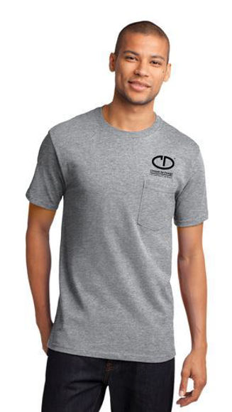 Picture of Port & Company Tall Essential Pocket Tee PC61PT