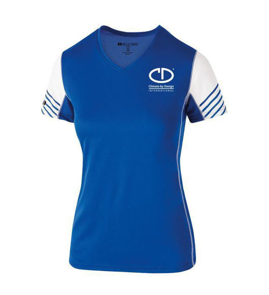 Picture of Holloway Ladies Arc Shirt Short Sleeve #222744