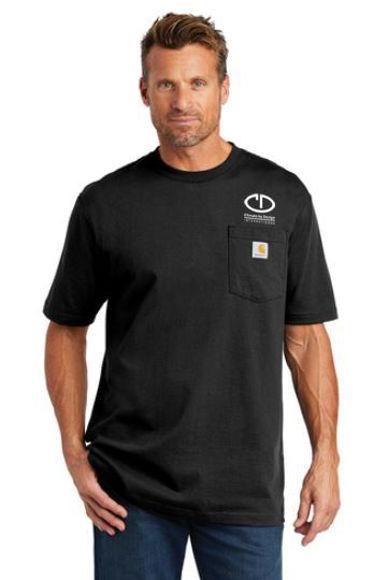 Picture of SanMar Carhartt Tall Workwear Pocket Short Sleeve T-Shirt CTTK87