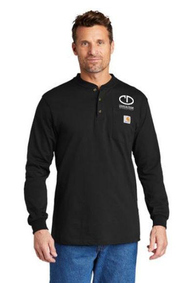Picture of SanMar Carhartt Long Sleeve Henley T-Shirt CTK128