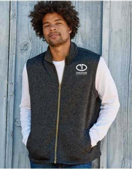 Picture of S&S Active Wear Weatherproof Vintage Sweaterfleece Vest - 2030117