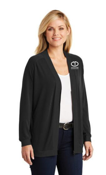 Picture of SanMar Port Authority Ladies Concept Bomber Cardigan
